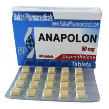 Anapolon Анаполон 50 мг, 100 таблеток, Balkan Pharmaceuticals в Кокшетау