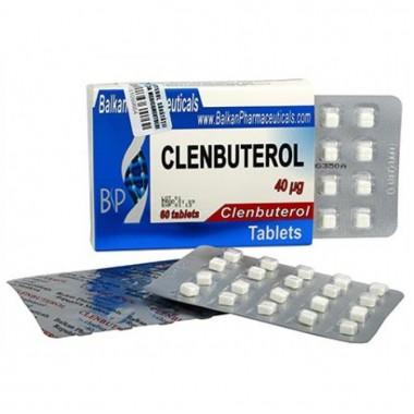 Clenbuterol Кленбутерол 40 мкг, 100 таблеток, Balkan Pharmaceuticals в Кокшетау