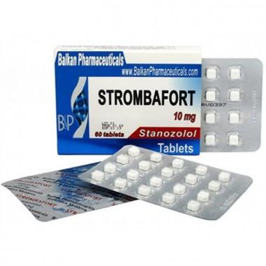 Strombafort Стромбафорт 10 мг, 100 таблеток, Balkan Pharmaceuticals в Кокшетау