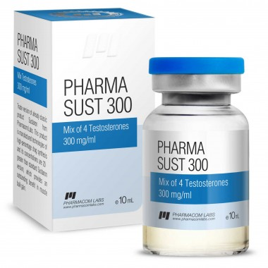 PHARMASUST 300 Тестостерон Микс 300 мг/мл, 10 мл, Pharmacom LABS в Кокшетау