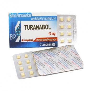 Turanabol Туринабол 10 мг, 100 таблеток, Balkan Pharmaceuticals в Кокшетау