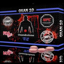 OXAN 10 Оксандролон 10 мг, 100 таблеток, UFC PHARM