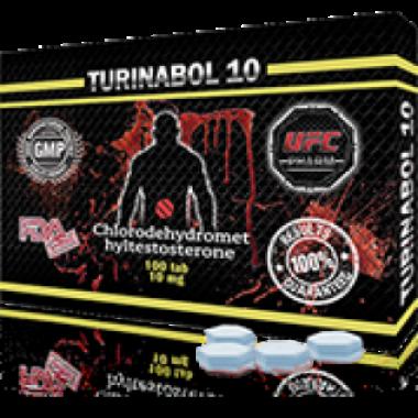 TURINABOL Туринабол 10 мг, 100 таблеток, UFC PHARM в Кокшетау
