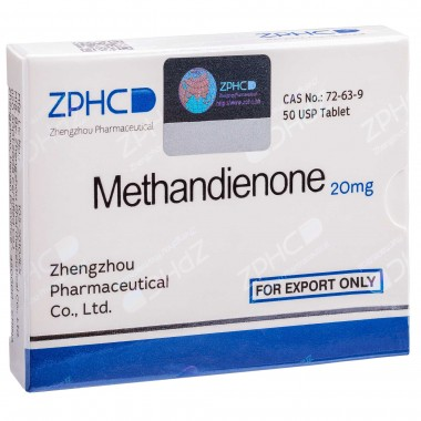 Methandienone Метандиенон 20 мг, 50 таблеток, ZPHC в Кокшетау