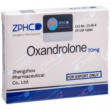 Oxandrolone Оксандролон 20 мг, 50 таблеток, ZPHC в Кокшетау