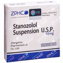 Stanozolol Suspension Станозолол суспензия 50 мг, 10 ампул, ZPHC