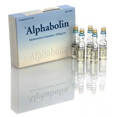Alphabolin (Метенолон) Alpha Pharma 10 ампул по 1мл (1амп 100 мг) в Кокшетау