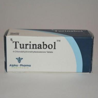Turinabol (Туринабол) Alpha Pharma 50 таблеток (1таб 10 мг) в Кокшетау